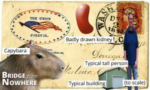 001 - Monkey Riding a Capybara